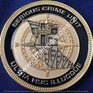 RCMP E Division Major Crime - Serious Crime Unit Gold