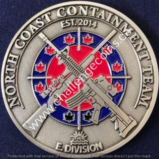 RCMP E Division North Coast Containment Team