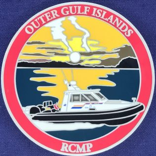 RCMP E Division Outer Gulf Islands