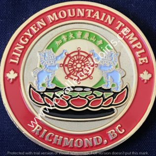 RCMP E Division Richmond Detachment Lingyen Mountain Temple