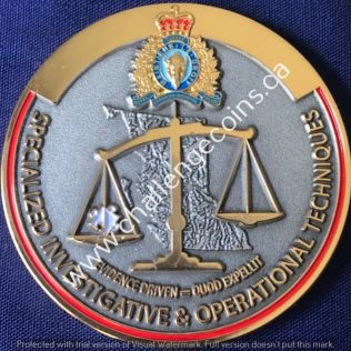 RCMP E Division Specialized Investigative and Operational Techniques SIOT