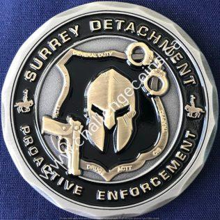 RCMP E Division - Surrey Detachment Proactive Enforcement
