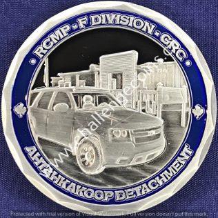RCMP F Division - Ahtahkakoop Detachment
