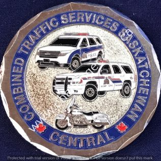 RCMP F Division Central Combined Traffic Services Silver