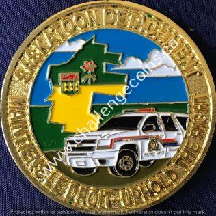 RCMP F Division Saskatoon Detachment Gold