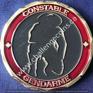 RCMP Generic - Horse Logo Constable