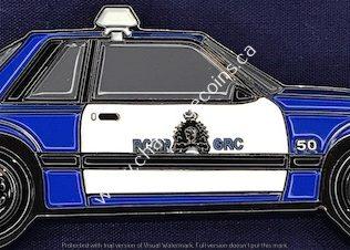 RCMP Generic Mustang