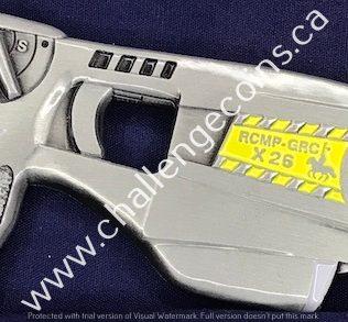RCMP Generic Taser Silver