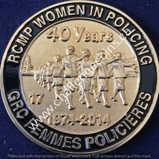 RCMP Generic - Women in Policing 40 years