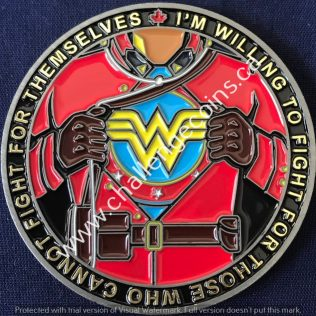 RCMP Generic Wonder Woman
