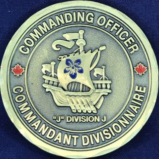 RCMP J Division - Commanding Officer