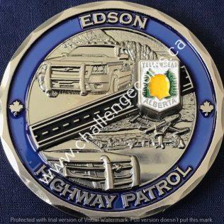 RCMP K Division Edson Highway Patrol
