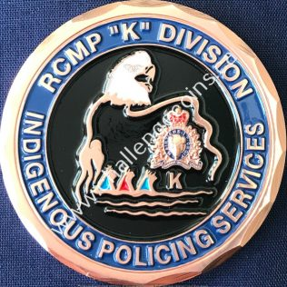 RCMP K Division - Indigenous Policing Services Bronze