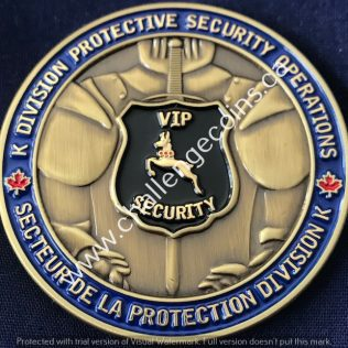 RCMP K Division - Protective Security Operations Black