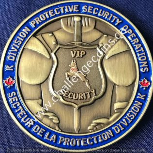 RCMP K Division - Protective Security Operations Gold