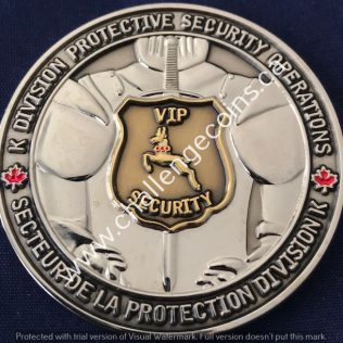 RCMP K Division - Protective Security Operations Silver