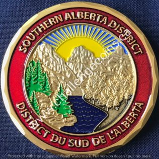 RCMP K Division Southern Alberta District Gold