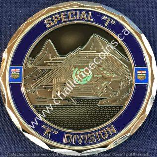 RCMP K Division - Special I