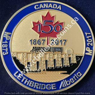 RCMP K Division - Veterans Lethbridge 150 years 1867-2017