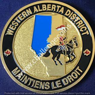 RCMP K Division Western Alberta District Gold