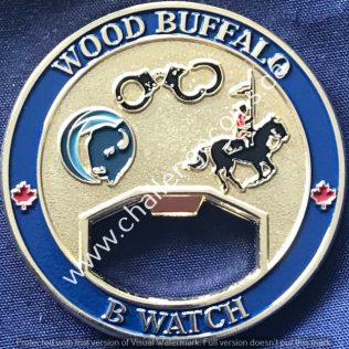 RCMP K Division - Wood Buffalo B Watch