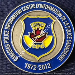 RCMP NHQ - Canadian Police Information Centre CPIC 1972-2012