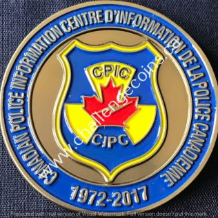 RCMP NHQ - Canadian Police Information Centre CPIC 1972-2017