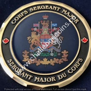 RCMP NHQ Corps Sergeant Major