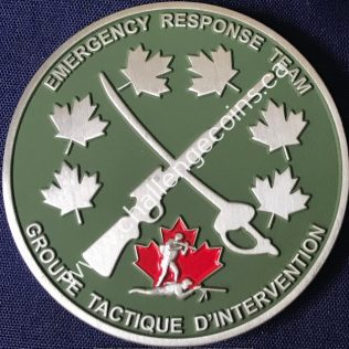 RCMP NHQ Emergency Response Team Green