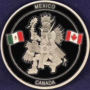 RCMP NHQ Liaison Office - Mexico 2020 Pewter