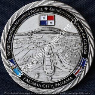 RCMP NHQ Liaison Office Panama Version 2 Silver