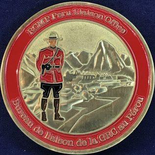 RCMP NHQ Liaison Office - Peru Red