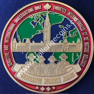 RCMP NHQ - Sensitive and International Investigations Unit