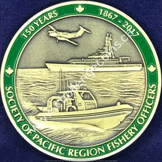 Fisheries and Oceans Canada Society of Pacific Region Fishery Officers 150 years