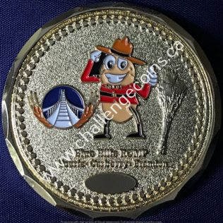 RCMP D Division - Blue Hills Detachment Gold