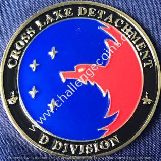 RCMP D Division - Cross Lake Detachment Gold