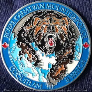 RCMP E Division - Coquitlam Detachment B Watch