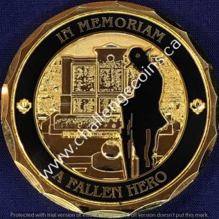 RCMP Generic - Veterans Association In Memoriam a Fallen Hero