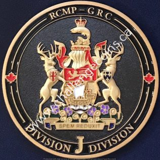 RCMP J Division - Coat of Arms