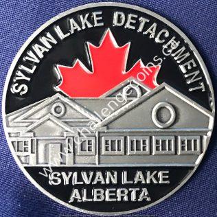 RCMP K Division - Sylvan Lake Detachment Silver