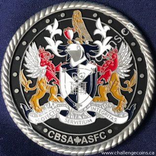 Canada Border Services Agency CBSA - Coat of Arms Spartan