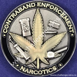 Canada Border Services Agency CBSA - Contraband Enforcement Narcotics
