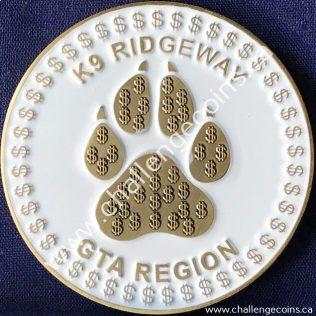 Canada Border Services Agency CBSA - K9 Ridgeway Gold