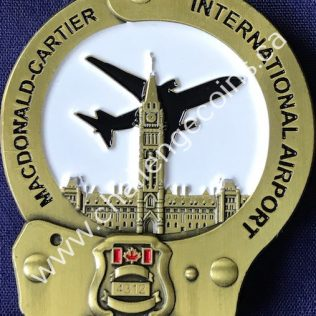 Canada Border Services Agency CBSA - MacDonald Cartier International Airport Gold
