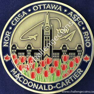 Canada Border Services Agency CBSA - Macdonal-Cartier Airport Gold