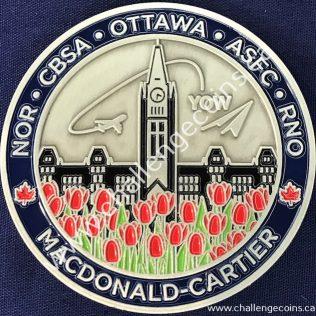 Canada Border Services Agency CBSA - Macdonal-Cartier Airport Grey