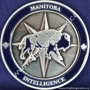Canada Border Services Agency CBSA - Manitoba Intelligence Blue