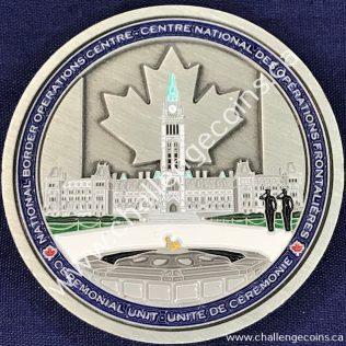 Canada Border Services Agency CBSA - National Border Operations Centre Ceremonial Unit