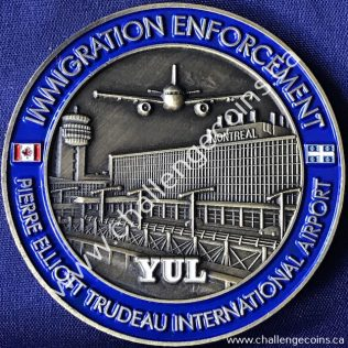 Canada Border Services Agency CBSA - Pierre Elliott Trudeau International Airport Gold