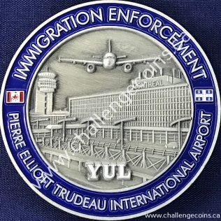 Canada Border Services Agency CBSA - Pierre Elliott Trudeau International Airport Grey